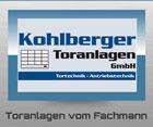 Kohlberger Toranlagen GmbH Logo